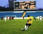На сайте предлагаются договорные матчи по футболу.